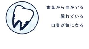 鯨岡歯科医院 歯周病治療 バナー